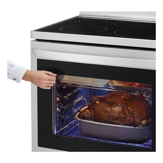 Cuisinière autonettoyante 30 po à vitrocéramique LG