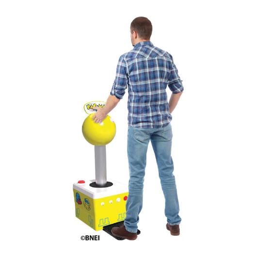 Joystick géant Pac-Man Arcade 1up