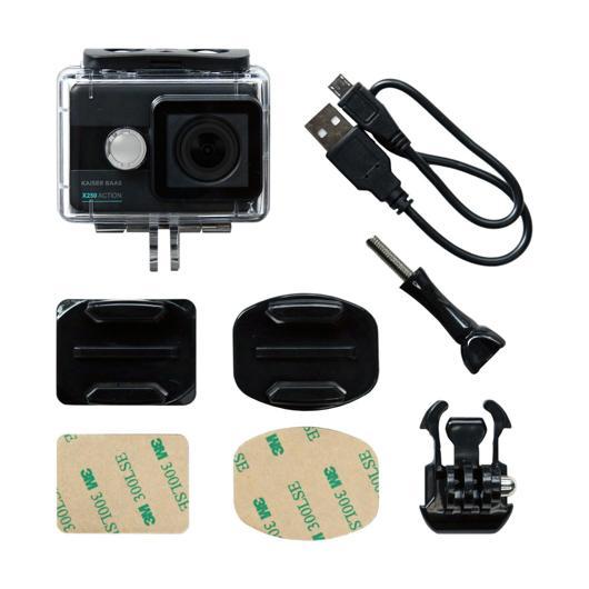 Caméra d'action X250 Kaiser Baas