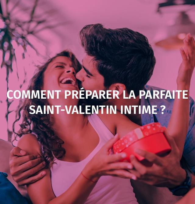 Comment préparer la parfaite Saint-Valentin intime?