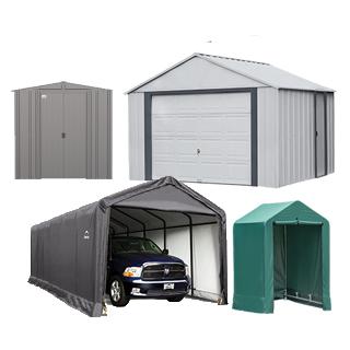 Garages et cabanons